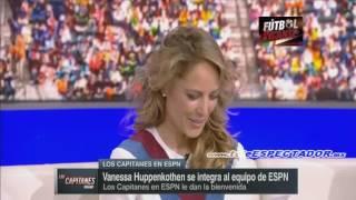 Vanessa Huppenkothen llega a ESPN - Los Capitanes