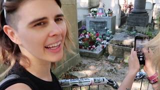 Graves Catacombs and Haunted House in Paris - Day 5 Anniversary Trip Vlog
