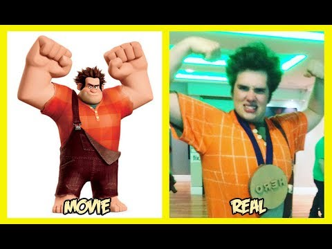 Ralph Breaks the Internet Characters In Real Life