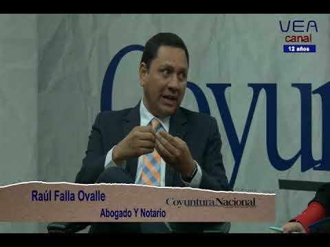 Fernando Linares Beltranena y Raúl Falla en Coyuntura Nacional