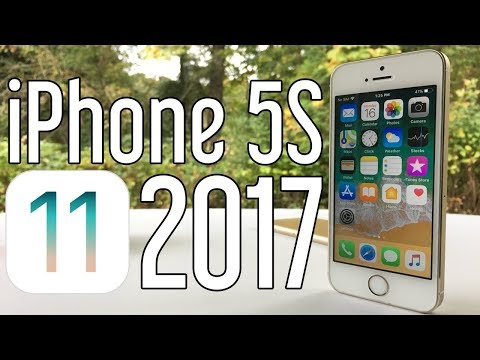 iPhone 5S on iOS 11 – Late 2017 Review