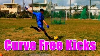 曲げるカーブFK練習 Bend it like Beckham! Curve Free Kicks with Wall thumbnail