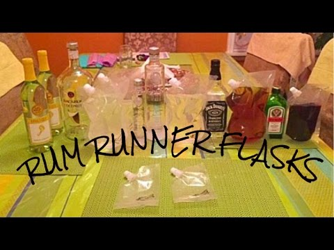 Rum Runner Flasks Caught