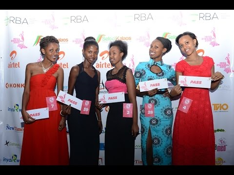 MISS RWANDA 2015 NORTHERN PROVINCE AUDITIONS