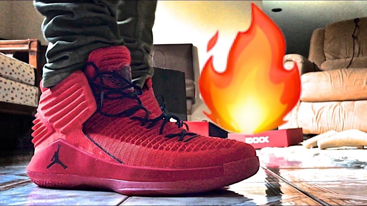 e38490273755 Air Jordan XXXII Rosso Corsa Complete Sneaker Preview