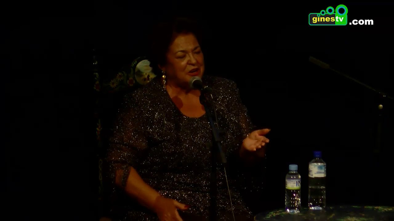 Lola Moreno en el Festival Flamenco de Gines 2017