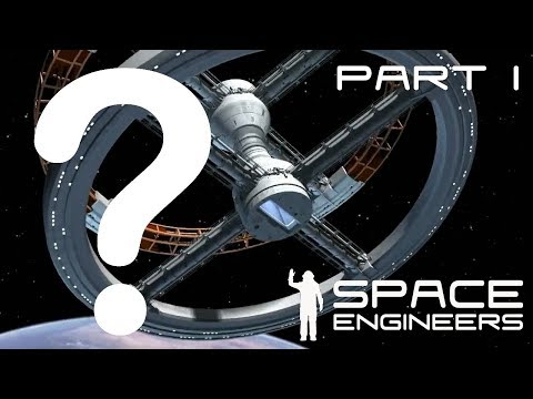 Space Engineers: Can you create 'spin gravity' in Space Engineers? PART 1
