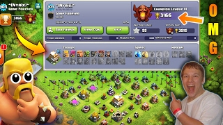 THATS_CRAZY!   TH6 IN CHAMPION ! NEW RECORD ! TH6 TROPHY RECORD 2017 ! LOW TH PUSHING CLASH OF CLANS
