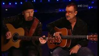Bono & The Edge - van diemens land (The O2, Dublin, 2008)