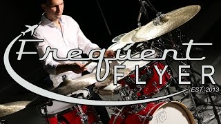 Ferenc Nemeth plays the DW Design Series Frequent Flyer kit