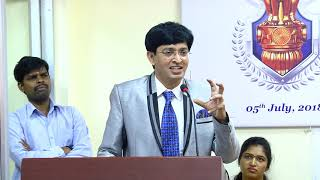 "Dr.J.Radhakrishnan, IAS - "" What it takes to be an Indian Civil Servant"""