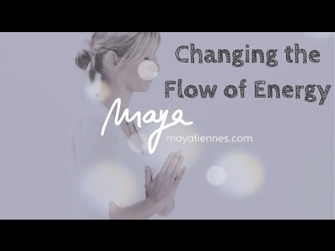 Change The Flow of Energy and Clean the Adrenals in 1 minute with Maya Fiennes