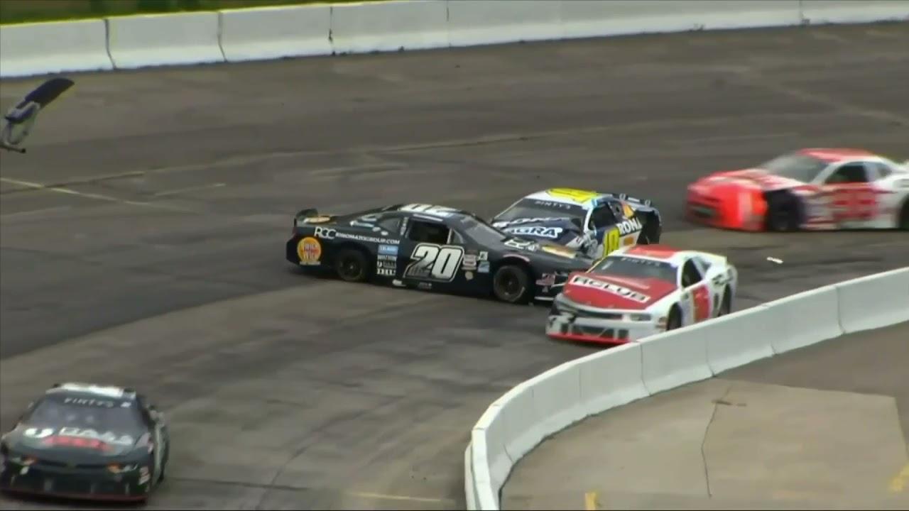 Alex Tagliani Crash – 2021 NASCAR Pinty's Series at Delaware