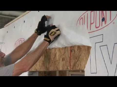 Install And Flash A Bump Out Window When Using Drainwrap