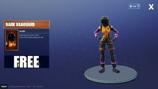 Fortnite Battle Royale - HOW TO GET FREE DARK VANGUARD OUTFIT!