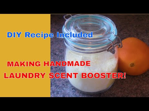 How To Make Laundry Scent Booster & Recipe