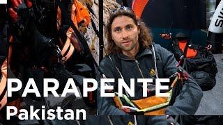 Antoine Girard Broad Peak 8047 mètres record d'altitude 8150 mètres en parapente Pakistan - 11357