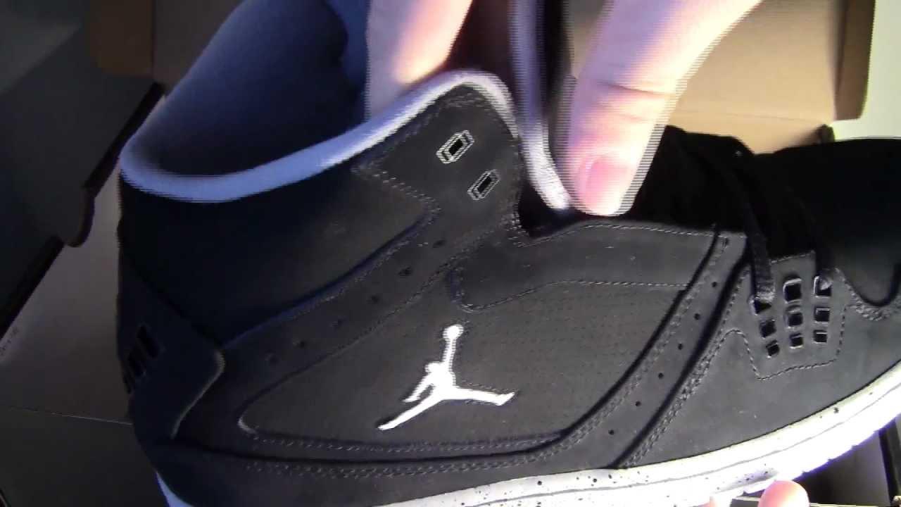 7bd9f0f7df7 Jordan 1 Flight shoe Unboxing - YouTube
