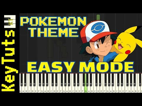 Learn to Play Theme from the Pokemon Anime - Easy Mode
