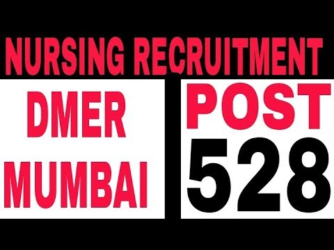 Latest mumbai staff nurse vacancy 2018