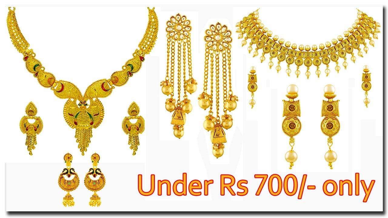 Beautiful Jewelry Sets Under 700 Necklace Set Online Shopping Amazon Valentines Day Gifts Youtube