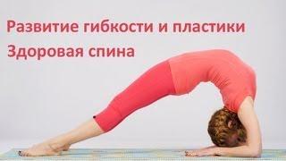 Развитие гибкости и пластики. Упражнения для спины(http://gibkoetelo.ru ------------------------------- КАК СОСТАВИТЬ ПОЛНОЦЕННУЮ ТРЕНИРОВКУ http://www.youtube.com/watch?v=ztktHz1E7p8 ..., 2013-03-13T21:08:59.000Z)
