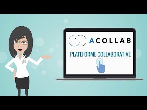 Acollab, plateforme collaborative