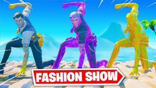 *TRIOS* Fortnite FASHION SHOW... (best one yet)