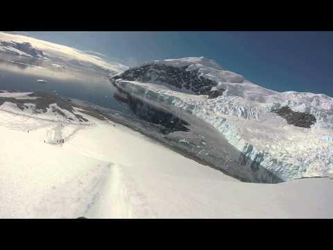 Sledding at Neko Harbour- Antarctica