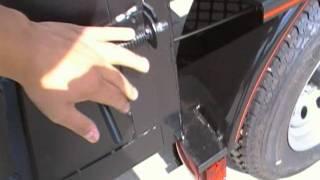 5x8 Bbq Smoker Concession Pit Trailer 250 Gallon Dual Fire Box Wood Storage