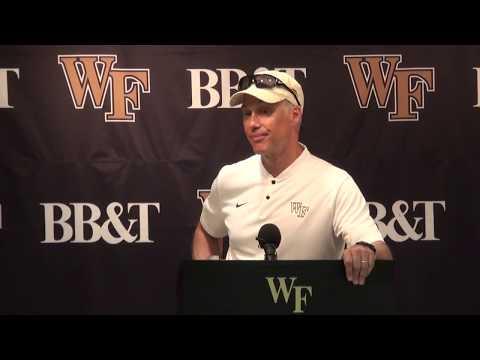 Postgame Press Conference - Dave Clawson vs. Notre Dame