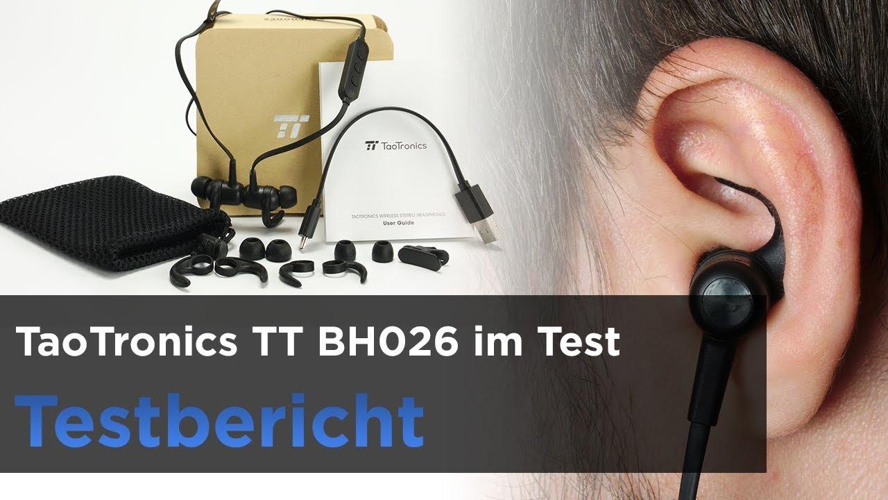 taotronics tt bh026 im test in ear bluetooth kopfh rer mit magnetverschluss youtube. Black Bedroom Furniture Sets. Home Design Ideas