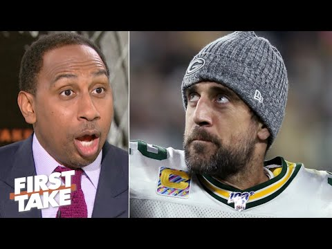 Aaron Rodgers reminded us he's a 'baaaad man' in the Packers' win - Stephen A. | First Take
