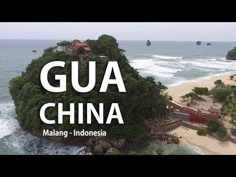 Gua China Beach Wisata Pantai Goa Cina Malang Jawa Timur Indonesia Youtube