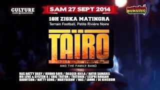 TAIRO & The Family Band en concert unique a l?ile Maurice. le 27 sept