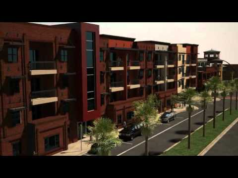 Transit Oriented Development (TOD) University Place Texas
