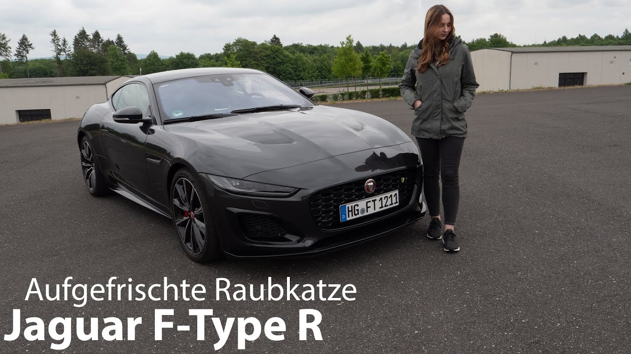 2021 Jaguar F Type R F Type P575 Test Die Raubkatze In Frischer Form Autophorie Youtube
