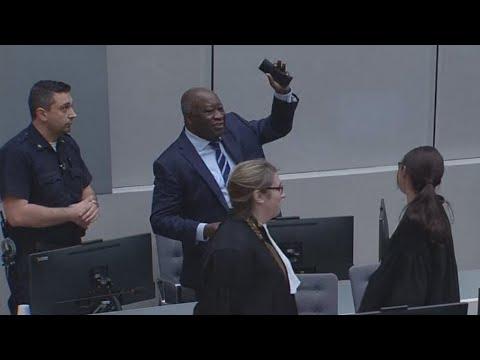 La CPI libère l'ancien président ivoirien Laurent Gbagbo sous conditions