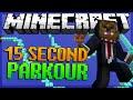 Minecraft 15 Second Parkour w/ BajanCanadian & JeromeASF (Part 1)