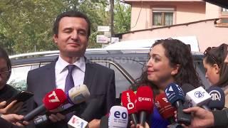 Albin Kurti and Vjosa Osmani -- new Kosovo government
