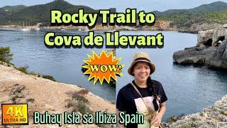 ROCKY TRAIL TO MAGNIFICENT CAVE. COVA DE LLEVANT. |Buhay Isla sa Ibiza Spain. #Ibizaspain