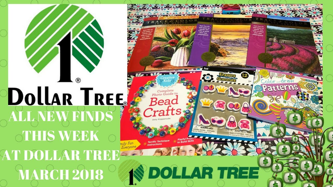 ALL NEW FINDS FROM THE DOLLAR TREE !! DOLLAR TREE HAUL MARCH 2018 ...