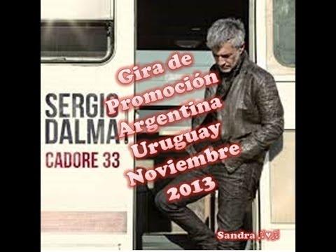 Sergio Dalma - Gira Promoción Cadore 33 en Argentina ♫♥♫