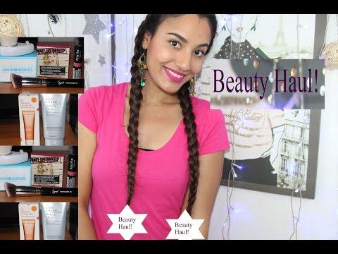 Haul beauté cosmétiques/مستحضرات التجميل والمكياج/Beauty HAUL drugstore 2015 !/
