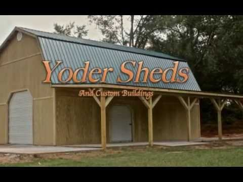Yoder Sheds Rent To Own Youtube