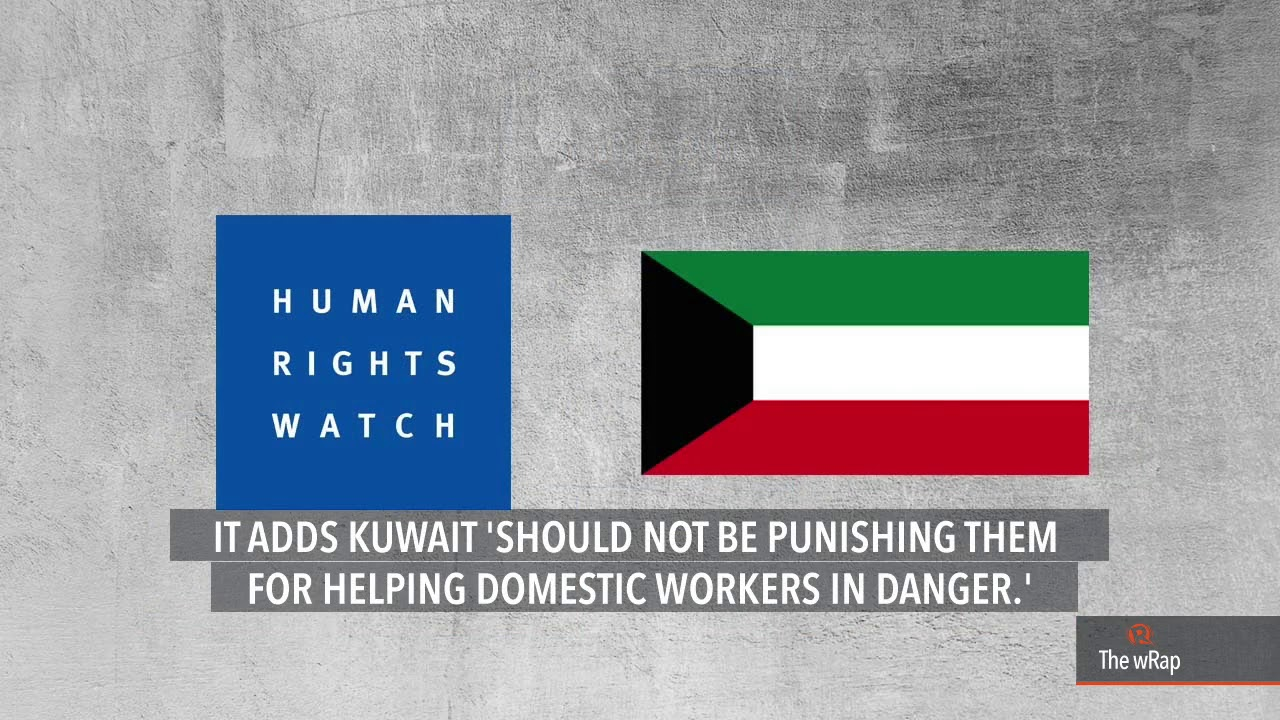 Human Rights Watch hits Kuwait for 'punishing' embassy staff aiding OFWs