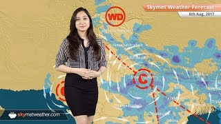 Weather Forecast for Aug 8: Rain in Delhi, Hyderabad, Madhya Pradesh, Uttar Pradesh