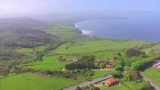 Ravenscar, North Yorkshire, England Coastline From Above! Drone Video - A Summers Day
