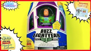 Buzz Lightyear Signature collection Disney Toy Story by Thinkway Toys