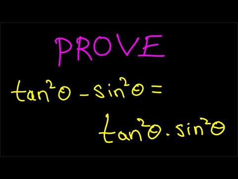 Trigonometric Identities and Proofs Tutorial - Solving a problem. A1003